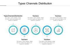 Types Channels Distribution Ppt PowerPoint Presentation Show Clipart Cpb