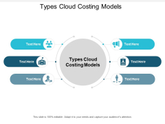 Types Cloud Costing Models Ppt PowerPoint Presentation Inspiration Styles Cpb