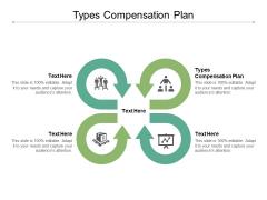 Types Compensation Plan Ppt PowerPoint Presentation Portfolio Design Ideas Cpb