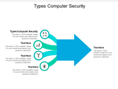 Types Computer Security Ppt PowerPoint Presentation File Templates Cpb
