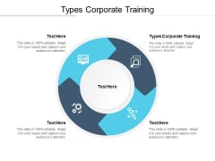 Types Corporate Training Ppt PowerPoint Presentation Inspiration Summary Cpb