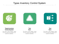 Types Inventory Control System Ppt PowerPoint Presentation Outline Influencers Cpb Pdf