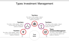 Types Investment Management Ppt PowerPoint Presentation Tips Cpb Pdf
