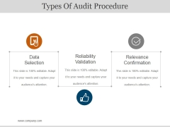 Types Of Audit Procedure Ppt PowerPoint Presentation Pictures