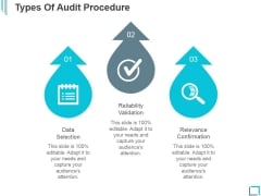Types Of Audit Procedure Ppt PowerPoint Presentation Show