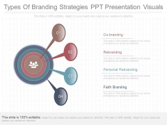 Types Of Branding Strategies Ppt Presentation Visuals