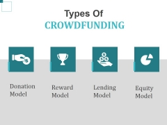 Types Of Crowdfunding Template 2 Ppt PowerPoint Presentation Pictures Inspiration