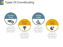 Types Of Crowdfunding Template 2 Ppt PowerPoint Presentation Professional Infographics