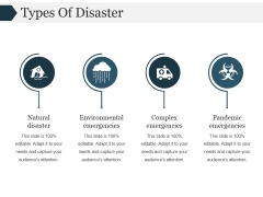 Types Of Disaster Template 1 Ppt PowerPoint Presentation Picture