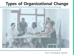Types Of Organizational Change Management Gear Business Ppt PowerPoint Presentation Complete Deck