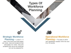 Types Of Workforce Planning Ppt PowerPoint Presentation Layouts Guidelines