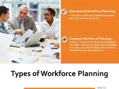 Types Of Workforce Planning Ppt PowerPoint Presentation Show Skills