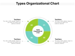 Types Organizational Chart Ppt PowerPoint Presentation Show Cpb
