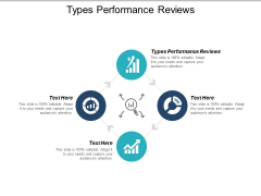 Types Performance Reviews Ppt PowerPoint Presentation Infographics Graphics Cpb