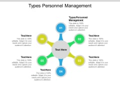 Types Personnel Management Ppt PowerPoint Presentation Show Picture Cpb