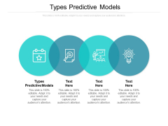 Types Predictive Models Ppt PowerPoint Presentation Gallery Introduction Cpb
