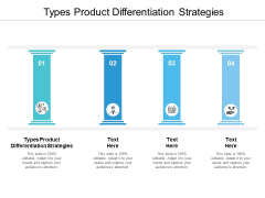 Types Product Differentiation Strategies Ppt PowerPoint Presentation Infographic Template Designs Cpb