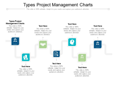 Types Project Management Charts Ppt PowerPoint Presentation Icon Professional Cpb Pdf