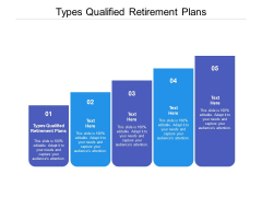 Types Qualified Retirement Plans Ppt PowerPoint Presentation Pictures Cpb