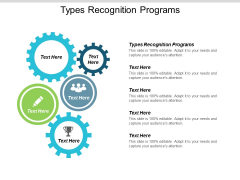 Types Recognition Programs Ppt PowerPoint Presentation Information Cpb