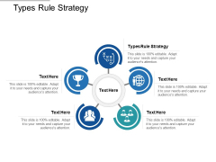 Types Rule Strategy Ppt PowerPoint Presentation Outline Themes Cpb