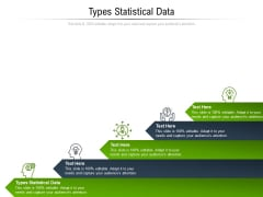 Types Statistical Data Ppt PowerPoint Presentation Outline Designs Download Cpb Pdf