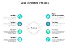 Types Tendering Process Ppt PowerPoint Presentation Infographic Template Graphics Design Cpb