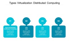 Types Virtualization Distributed Computing Ppt PowerPoint Presentation Pictures Example File Cpb