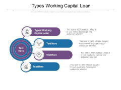 Types Working Capital Loan Ppt PowerPoint Presentation Professional Visuals Cpb