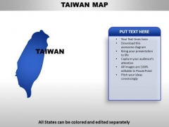 Taiwan PowerPoint Maps