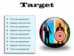 Target Business PowerPoint Presentation Slides C