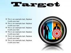 Target Business PowerPoint Presentation Slides Cc