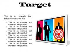 Target Business PowerPoint Presentation Slides F