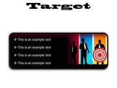 Target Business PowerPoint Presentation Slides R