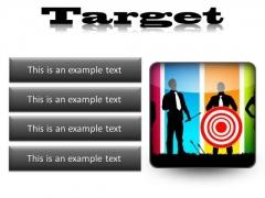 Target Business PowerPoint Presentation Slides S