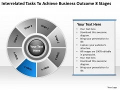 Tasks To Achieve Business Outcome 8 Stages Microbrewery Plan PowerPoint Slides
