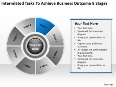 Tasks To Achieve Business Outcome 8 Stages Ppt Plans Examples PowerPoint Templates