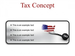 Tax Concept Finance PowerPoint Presentation Slides R