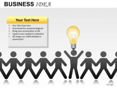 Team Leader Business Idea PowerPoint Slides And Ppt Diagram Templates