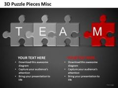 Team Puzzle Ppt