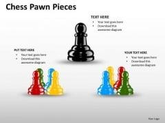 Teams Chess Pawn Pieces PowerPoint Presentation Slides And Ppt Diagrams