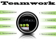 Teamwork Business PowerPoint Presentation Slides Cc