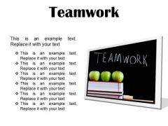 Teamwork Business PowerPoint Presentation Slides F