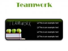 Teamwork Business PowerPoint Presentation Slides R