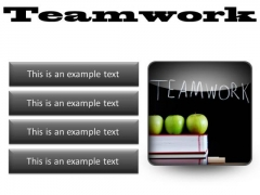Teamwork Business PowerPoint Presentation Slides S