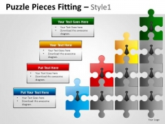 Teamwork Growth Puzzle Pieces PowerPoint Slides And Team Puzzle Ppt Templates