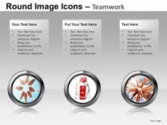 Teamwork Image Icons PowerPoint Templates Editable Ppt Slides