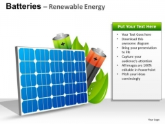 Technology Batteries Renewable Energy PowerPoint Slides And Ppt Diagram Templates