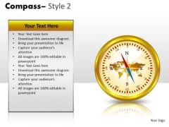 Technology Compass 2 PowerPoint Slides And Ppt Diagram Templates