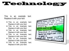 Technology Industrial PowerPoint Presentation Slides F